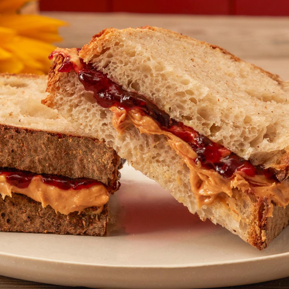 SUN-PAT PB & J Sandwiches