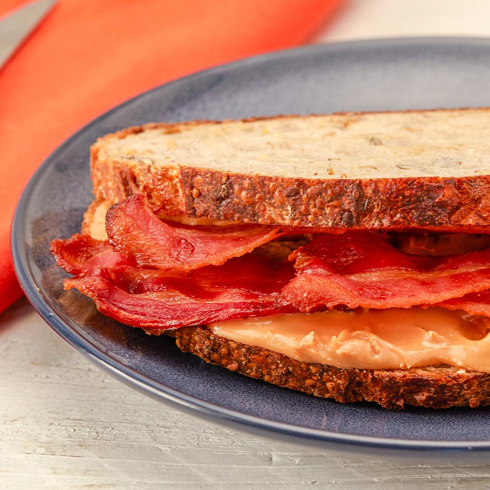 SUN-PAT & Bacon Toastie