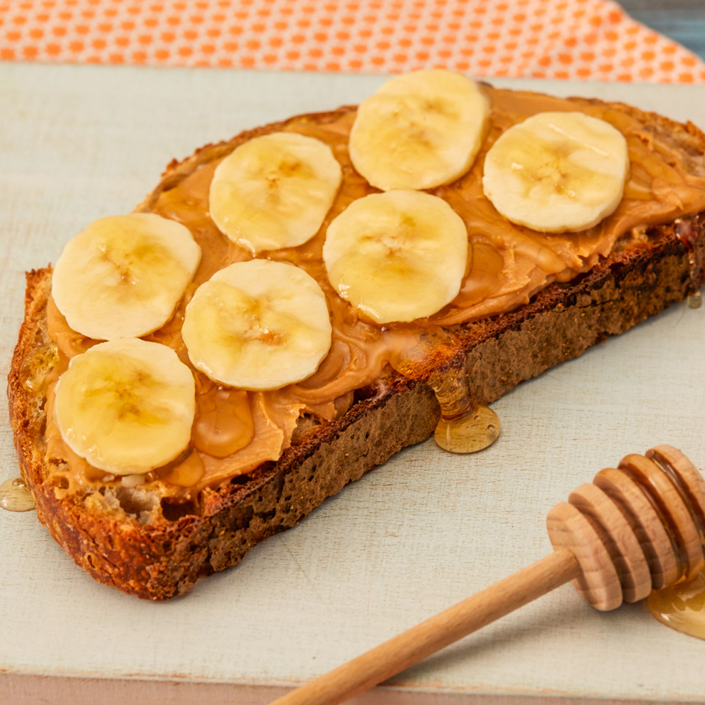 SUN-PAT, Banana and Honey Toast